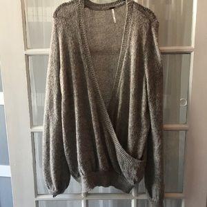 Oversized Vneck Pullover